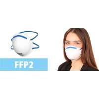 FFP2 Atemschutzmaske (vorgewölbt)